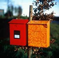 Frisk for eksempel opp postkassen.