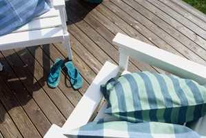 Terrassegulvet er utsatt for store klimatiske belastninger. For best mulig beskyttelse er høykvalitetsprodukter å foretrekke.