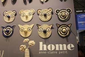 Unge designere og gamle håndverksteknikker resulterer i stadig nye produkter, som finner veien til interiørmessene. Disse maskene fant vi i Paris.