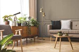 Leter du etter en moderne veggfarge som skaper god hjemmefølelse? Sjekk ut fargen Rakle.