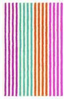 Tapethuset fører dette stripete barneteppet fra Harlequin.