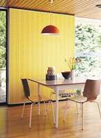 Gult kan også være kult. Orla Kiely står for designen.