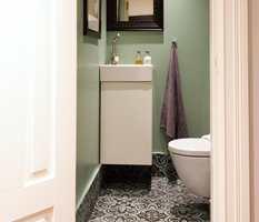 Badet er et rom vi ikke pusser opp ofte, men med malte vegger kan du enkelt endre farge når lysten på forandring melder seg.