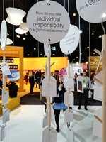 <b>MILJØ:</b> Det er et stigende fokus på bærekraft og miljø. Og i trendutstillingen ble vi utfordret til å tenke.