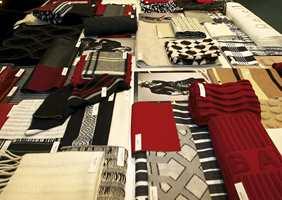 Fra Trend Forum. Mønstre og design spiller en viktig rolle - i tillegg til fargene. Her finnes mange mønstre som er retrospektive.