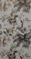 Eksotiske dyr i eksotiske trær, fra Trendutstillingen.