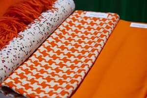 Colour Riot: Oransje var en av de store fargene.