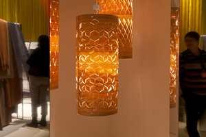 Split Clarity: Rene, geometriske mønstre i naturmaterialer.
