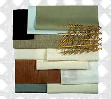 Trend med treverk som inspirasjon - fra skandinavisk design til brune, eksotiske tresorter.