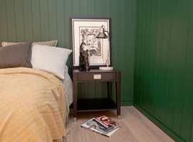 <b>MATERIALE FOR FREMTIDEN: </b>Veggpanel kan være mye mer enn en gammel, gulnet og mørk hyttevegg. Trepaneler er både tradisjonelt og fremtidsrettet, med uendelige muligheter for fargesetting og styling.
