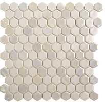 Mosaikk med marmorlook er en av nyhetene fra Golvabia.