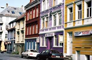 Neumannsgate i Bergen før.