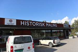 Lokalene til Historisk Maling i Ørje.
