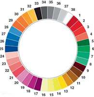 The Manchester Color Wheel. (Foto: Whorwell et al.)