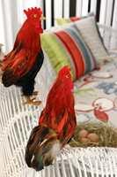Tekstiler inspirert av dyr og natur var en gjenganger på Heimtextil-messen i Frankfurt.