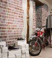 Med disse flisene på veggen er du garantert et rustikk og nostalgisk uttrykk.