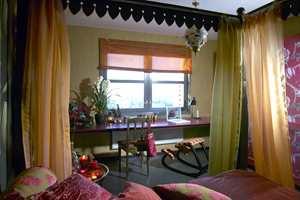 Rommet har blitt et flott oppholdssted for både eier og gjester.