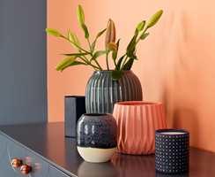 <b>FRISKT</b> En nyanse av oransje fra høstfargene, i god kombinasjon med blått. Fra Butinox. (Foto: Butinox)