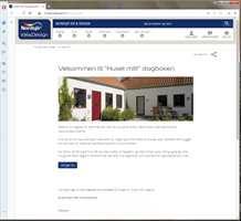 <b>DIGITALISERING:</b> Flere steder på nett, blant annet hos faghandelskjeden Nordsjö Idé & Design, finnes nettbaserte huskemapper der du kan lagre informasjon om huset.