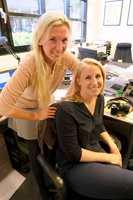 <b>FIKK DRØMMEJOBBEN:</b> Ida Gamre og Cecilie Breen ville til en seriøs bedrift i sin læretid. Begge havnet hos Alliero i Oslo. Der er de fortsatt. Nå som malermestere og ansvarlige for bedriftens antikvariske avdeling.