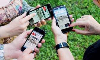 Det er bare å søke opp www.ifi.no i mobilens nettleser. Så har du tilgang på vår store oppussingsportal der du måtte befinne deg.