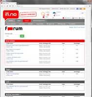 Fra og med nå finner du Forum på ifi.no. Her kan du stille spørsmål om oppussing, og få svar fra andre brukere!