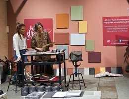 Pure & Original er kalkmaling med helt naturlige fargepigmenter. Under årets vårutgave av Oslo Design Fair ble malingsprodusenten valgt til å fargesette trendutstillingen. FARGETV tok turen for å høre hvordan det gikk.