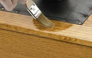 En god olje gir en fin og holdbar overflate. (illustrasjonsfoto)