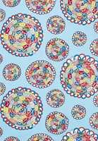Tekstil i knalle farger, med lekne mønster, gjerne inspirert av 70-tallet eller i den mer fantasifulle retningen, fungerer som fargefyrverkerier i interiøret.