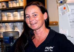 Best å følge produsentenes anbefalinger, mener Benedicte Svendsen, butikksjef hos Flügger.