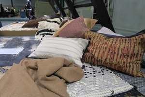 <b>LUNERE:</b> Det kommer mer og mer tekstiler, også her i ulike brunnyanser.