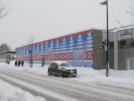 Street Art på fasade i Kongsvinger bidrar til å sette Kongsvinger på kartet og gi byen særpreg.