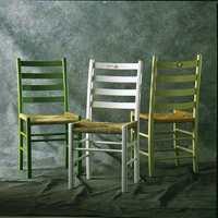Jærstolene kler farger og dekor.