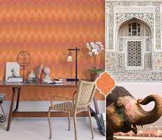 <b>ORANSJE:</b> Oransje sies av noen å være en farge som gir mye energi. Derfor kan den egne seg godt i arbeidsrom. Ønsker du å stimulere til aktivitet og kreativitet, kan oransje være fargen for deg. (Foto: Fantasi Interiør)