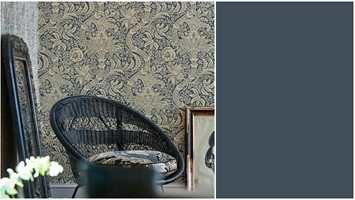 <b>MORRIS:</b> Tapetene som ble designet av William Morris for rundt 150 år siden er like aktuelle i dag. Intag har dem.