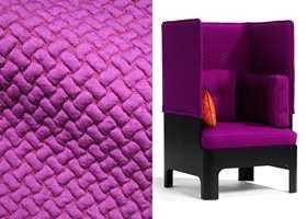 Innofa som føres av INTAG har strikkede tekstiler som er veldig strekkbare.