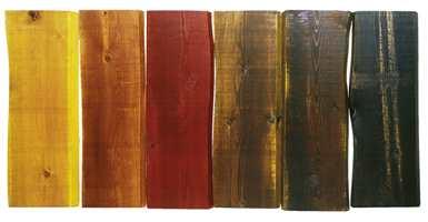 Tjærebeis (ikke tretjære) finnes i ferdig blandede farger, men det er også mulig å blande de ferdige fargene med hverandre for å oppnå andre nyanser.