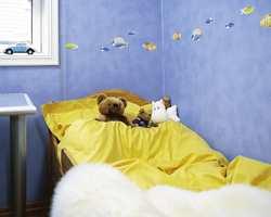 Gult sengetøy i damask gir god komfort. Kvaliteten finnes i mange flotte farger.