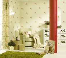 Stormønstrede tapeter er lekre og dekorative blikkfang i interiøret. Men vær klar over at de kan ha en mønsterrapport på hele 50-60 cm. Dette må du ta med i beregningen ved innkjøp.