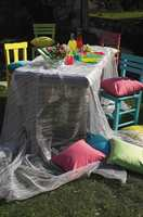 En solfylt dag ønsker vi familie og venner velkommen til sommerselskap i hagen.