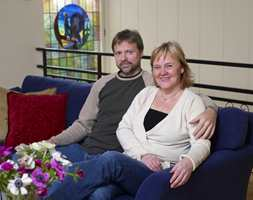 Marianne og Hans Martin trives i sitt