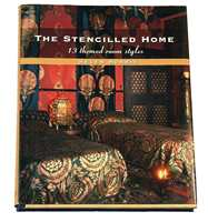 Boken heter Det sjablonerte hjemmet. Der er det ikke spart på noe!