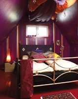 Den anonyme tilværelsen ble tryllet bort. Nå er soverommet blitt helt eventyrlig  inspirert av 1001 natt.