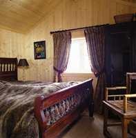 På det andre soverommet skulle også veggene males!
