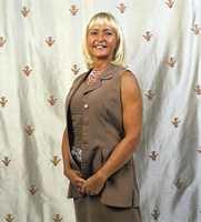 Ellen Lind hos tapet- og tekstilgrossisten Green Apple.