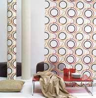 Kolleksjon fra Borge har tekstiler med retropreg som går rett hjem hos både shabby og chic.