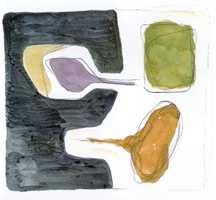 Som mal har tuftene på Kasthall brukt en akvarelltegning fra arkitekten Ami Katz. Hun syns det er viktig at teppet fører til at rommet føles riktig i farger å proporsjoner, samtidig skal teppet være selvstendig og fungere i andre sammenhenger.