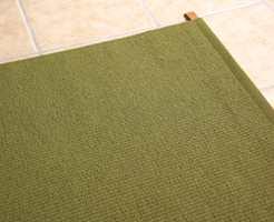 Teppet i yttergangen.