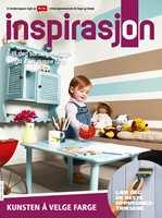 Se etter Inspirasjon neste gang du besøker ditt byggvarehus/fargehandel