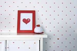 En masse små hjerter, og noen store! Kolleksjonen Kompis, Inspirasjon Interiør.